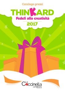 Catalogo premi Thinkard 2017 Coccinella