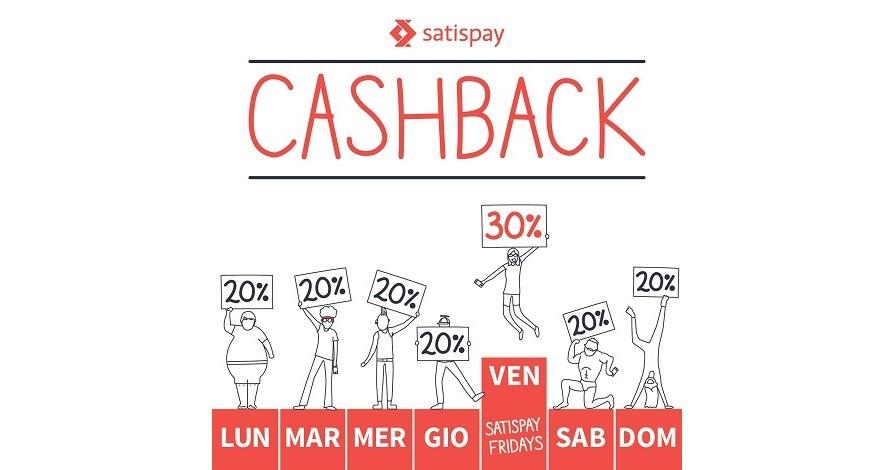 Cashback Satispay slide