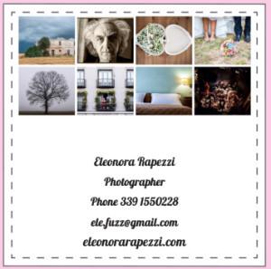 Biglietto da visita Eleonora Rapezzi