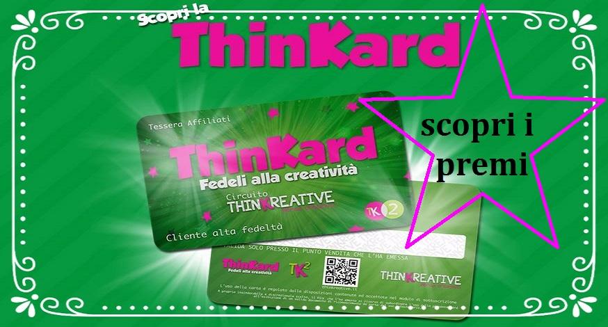 Thinkard con cornice slide