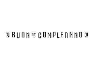 FESTONE BUON COMPLEANNO JUVENTUS 294x20