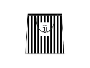 SHOPPER JUVE TG.L f.to 26X32X12