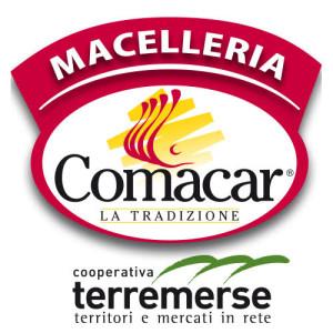 logo maccelleria comacar + terre